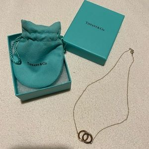 Tiffany Interlocking Pendant Necklace